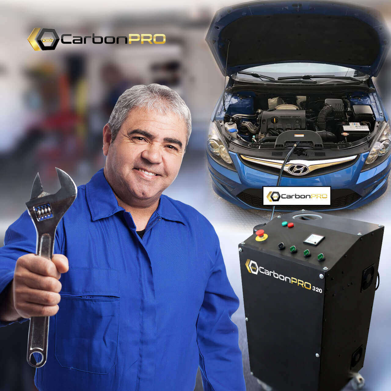 CarbonPRO-mechanics